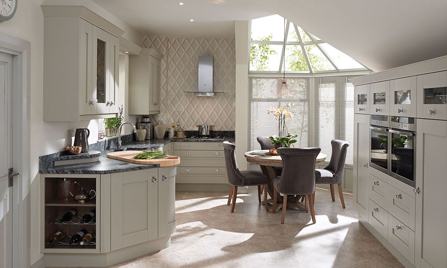 Second Nature Curved Kitchen